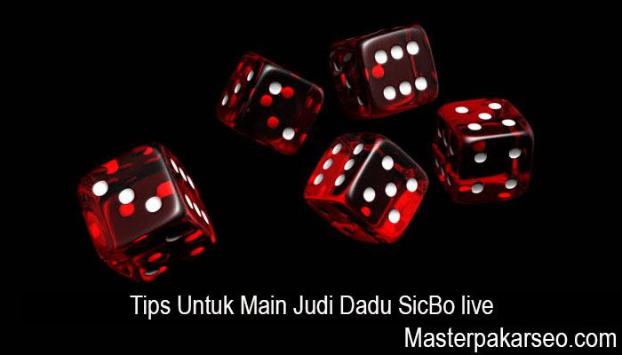 Tips Untuk Main Judi Dadu SicBo live